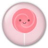 Button/Badge: Lollipop by apparate