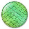 Button/Badge: Mermaid Scales by apparate