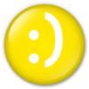 Button/Badge: Smile by apparate