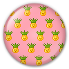 Button/Badge: Pineapple by apparate