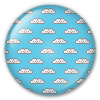 Button/Badge: Clouds by apparate