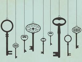 Vintage Keys by apparate