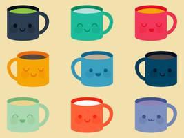 Cute Mugs by apparate