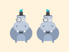 Gentleman Hippos