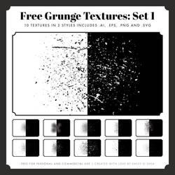 Free Vintage Grunge Textures: Set 1