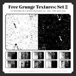 Free Vintage Grunge Textures: Set 2
