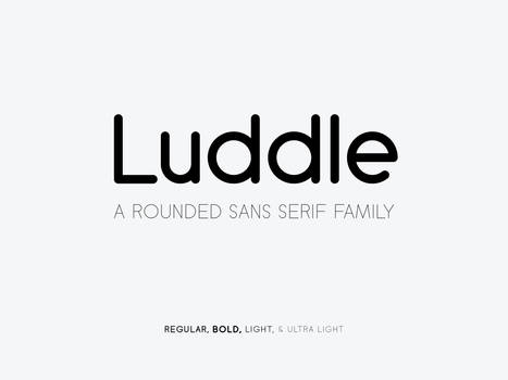 Luddle Font Family
