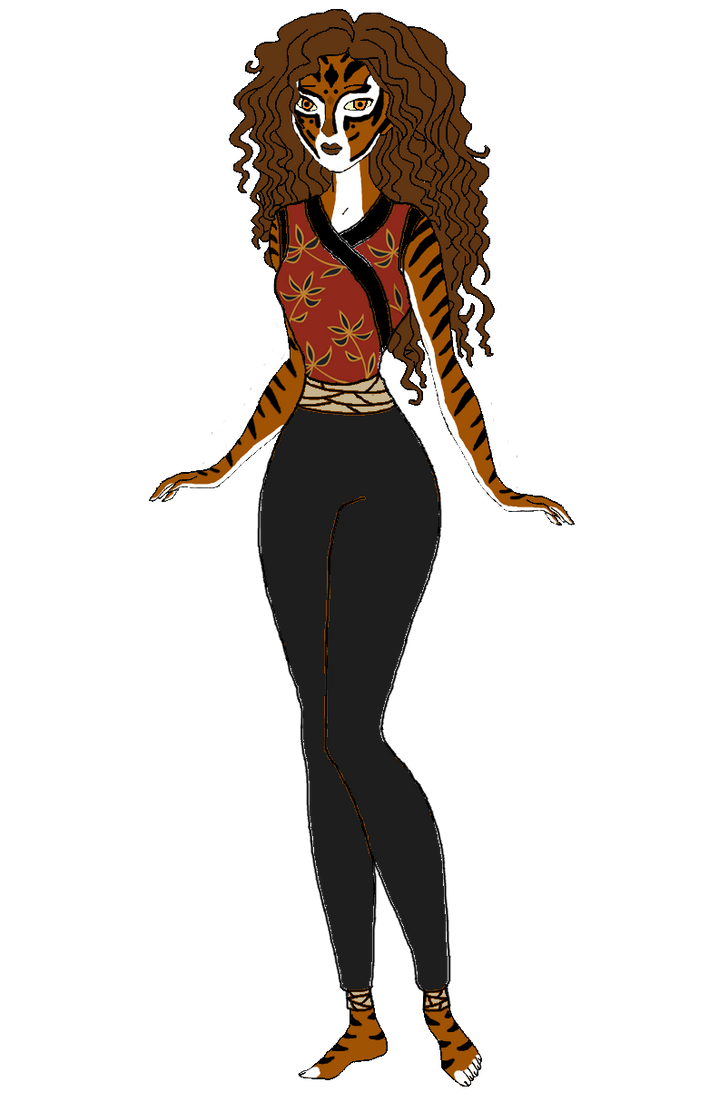 Human Tigress by Stephlover on DeviantArt