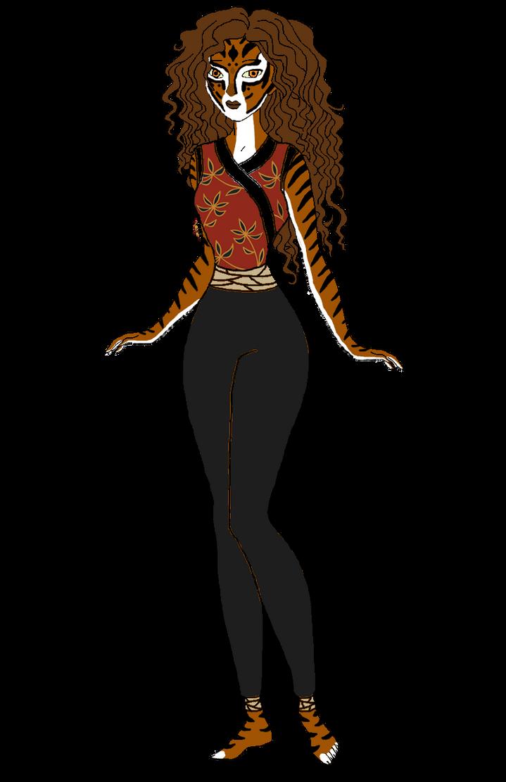 Human Tigress by Stephlover on DeviantArt