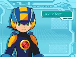 Megaman DA by berny17