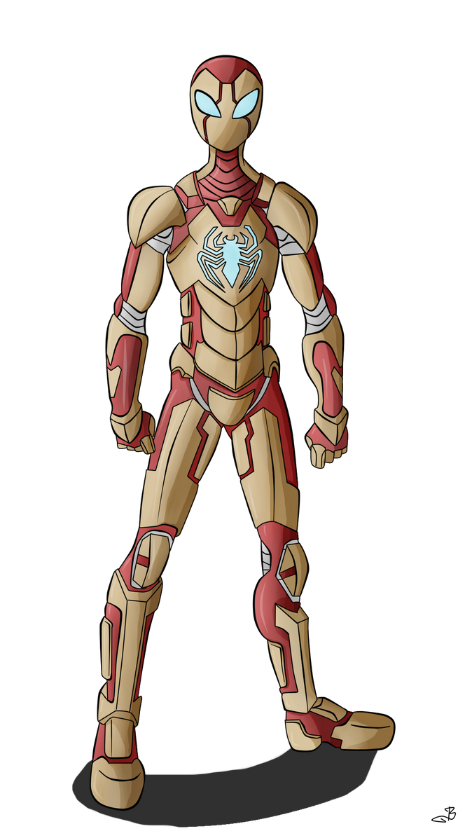 Iron Spider By Berny17 On DeviantArt