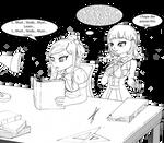-Hypnotized to study-
