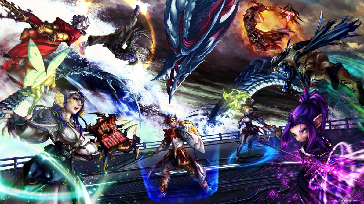 FFXIV - Leviathan Raid Group by Obsy-3