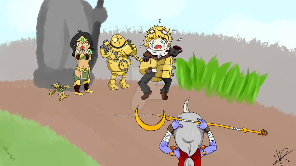 Meanwhile in the botlane by AloSan