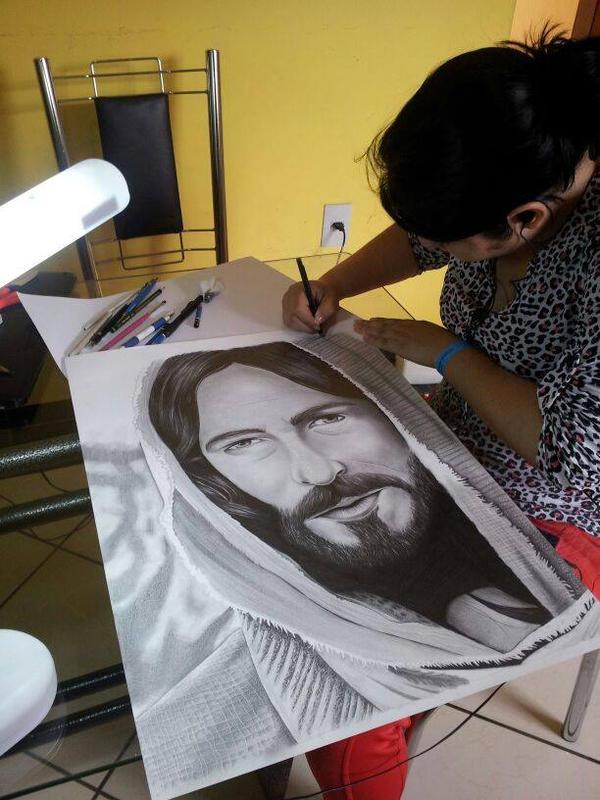 W.I.P Jesus Cristo by BrunaTaynara