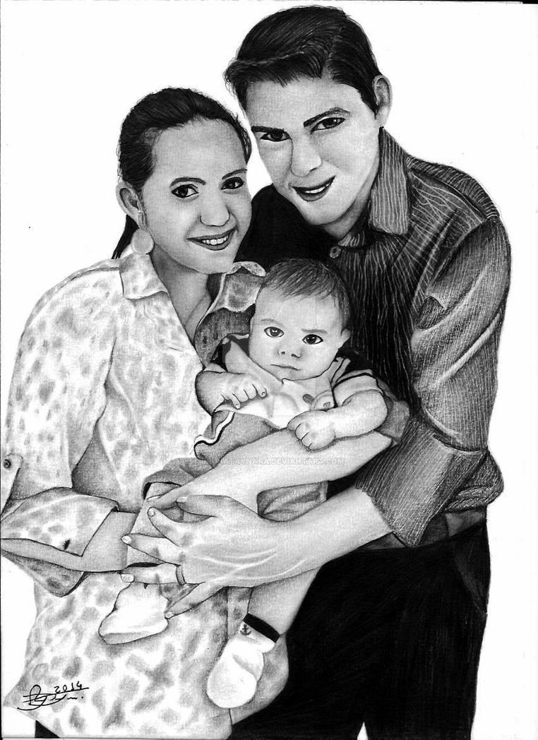 Encomenda de Natal. Familia by BrunaTaynara