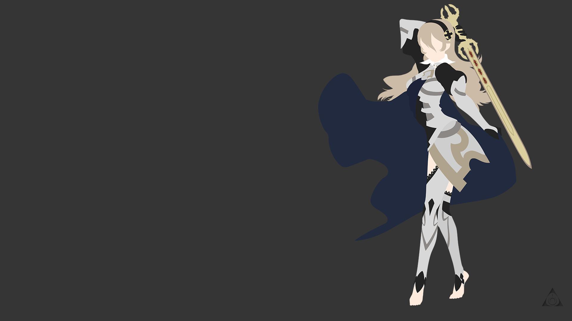 Minimalist Classroom Games : Kamui fire emblem if minimalist female by xvordred on