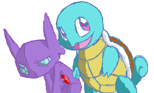 Buddies by LiversOnTheMoon