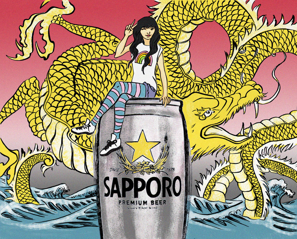 Sapporo CANvas Contest: Sapporo Style! by colleenquintart