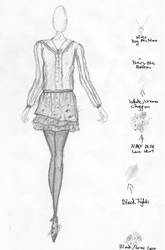 Design for new collection by Lovefashionxoxo