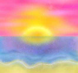 Sunset by Lovefashionxoxo
