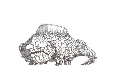 Crystal lizard by TheMaxxy