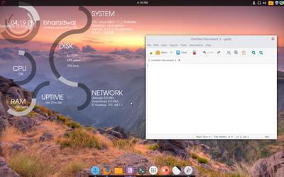 Infinity Desktop by nix-bhj