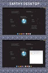 Earthy Desktop by nix-bhj