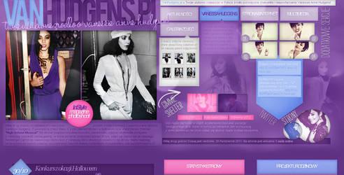VanHudgens layout by sweetkowa