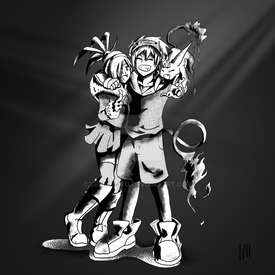 Manga Peeps by ErekiSaiko