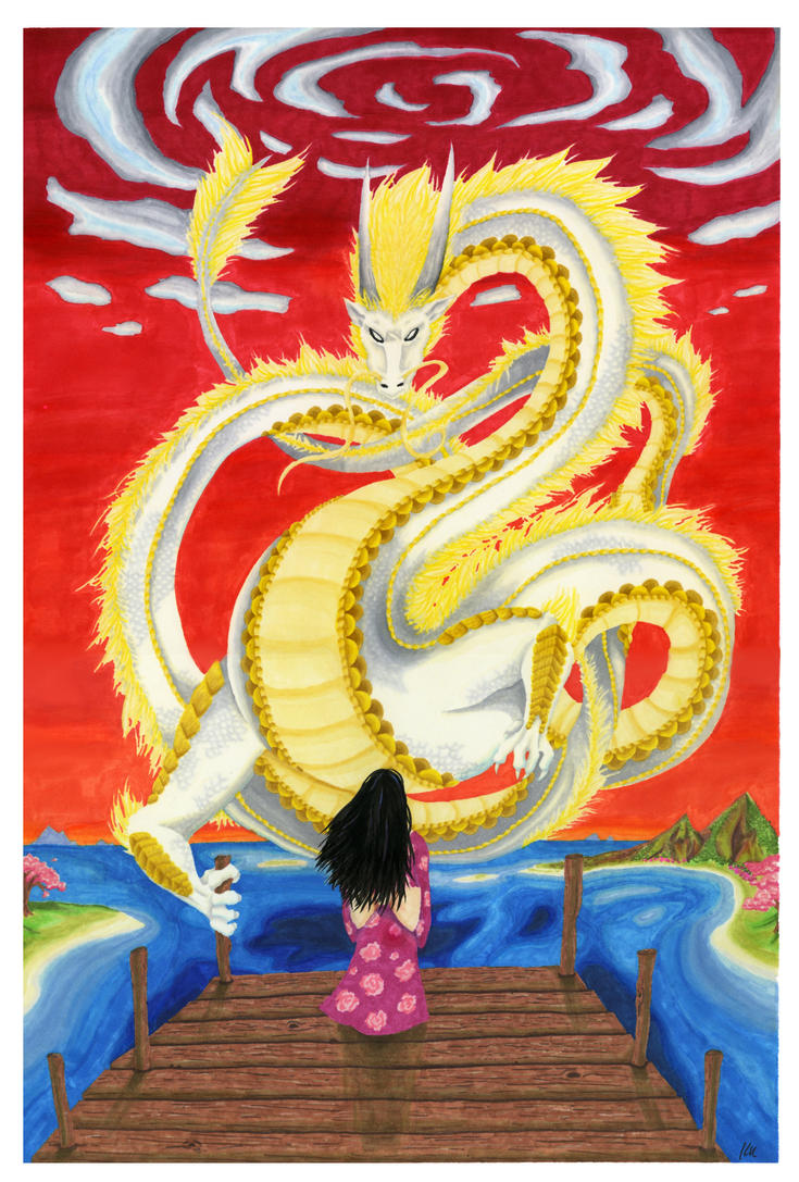 Luck Dragon by ErekiSaiko