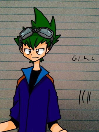 Glitch colored by ErekiSaiko