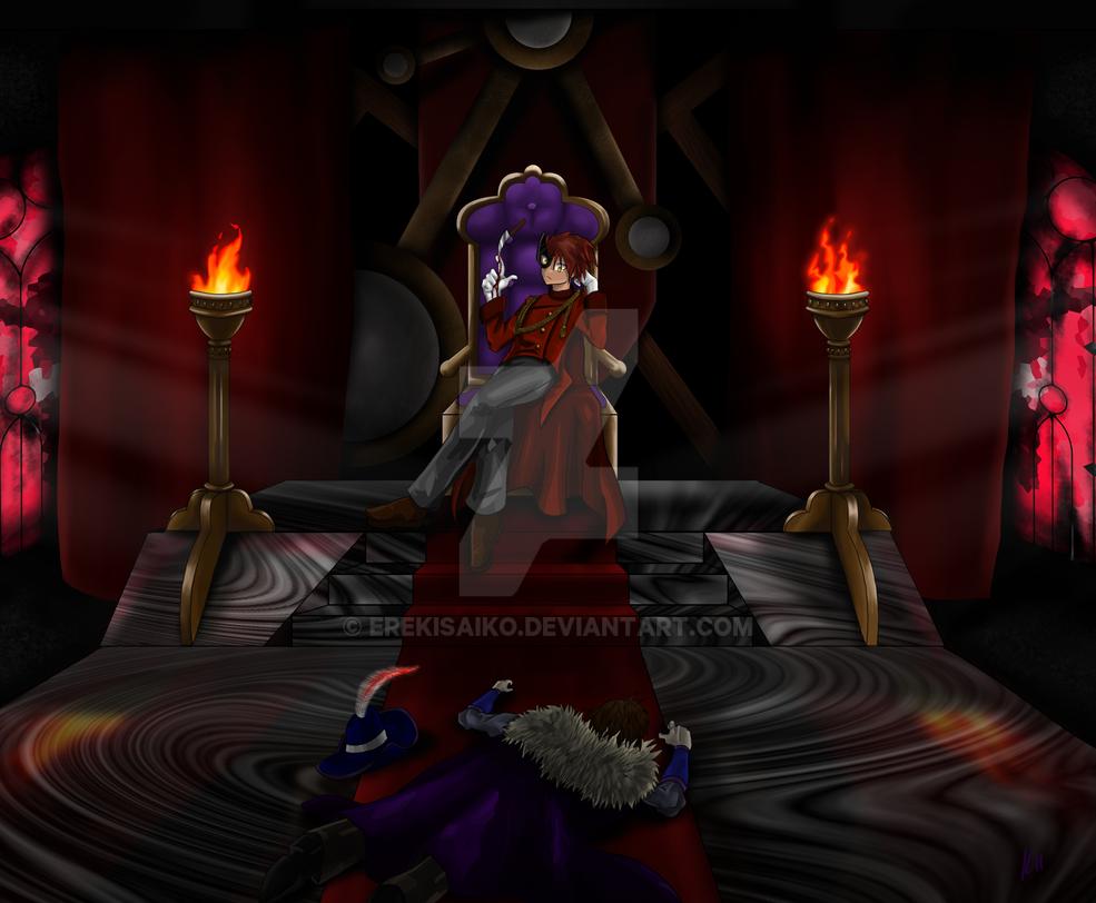 Crimson Masquerade by ErekiSaiko