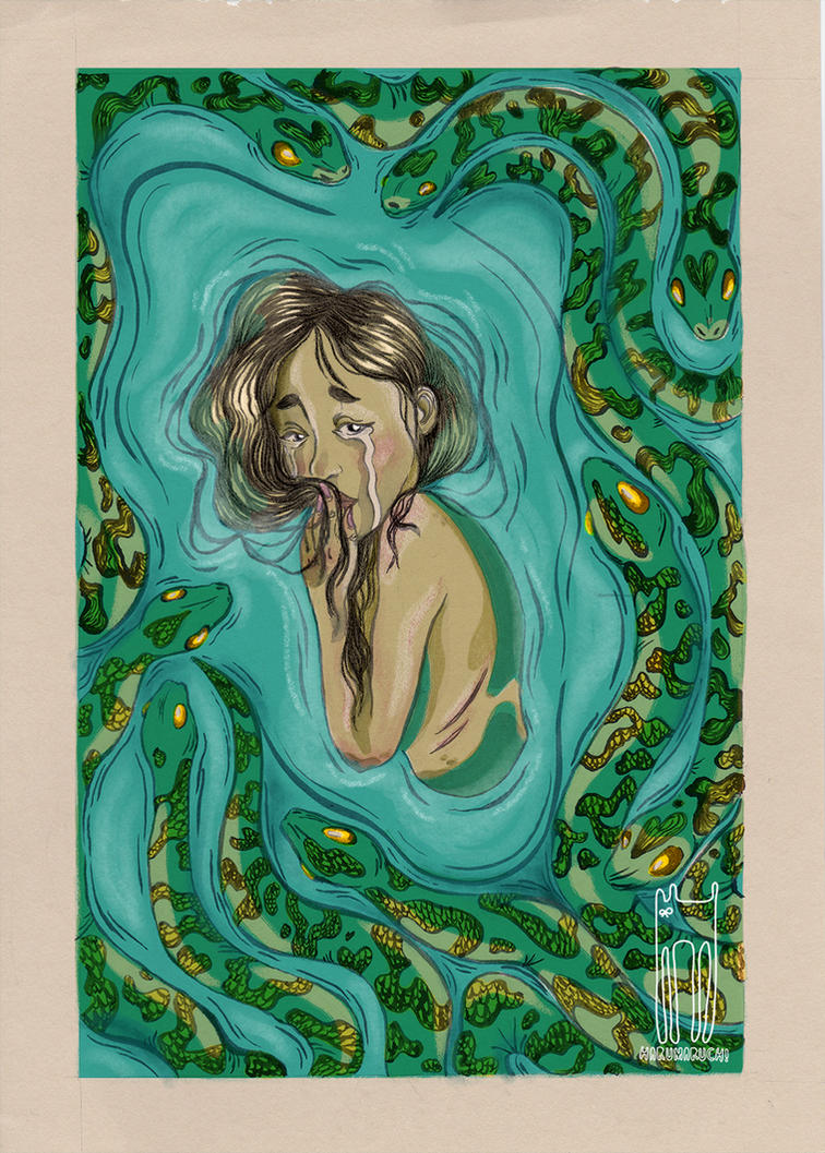 Snakes are sad by harumaruchi