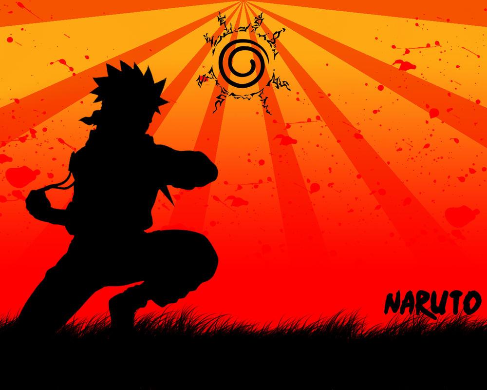 Best Wallpaper Naruto Silhouette - wallpaper_naruto_by_arcustangens  Gallery.jpg