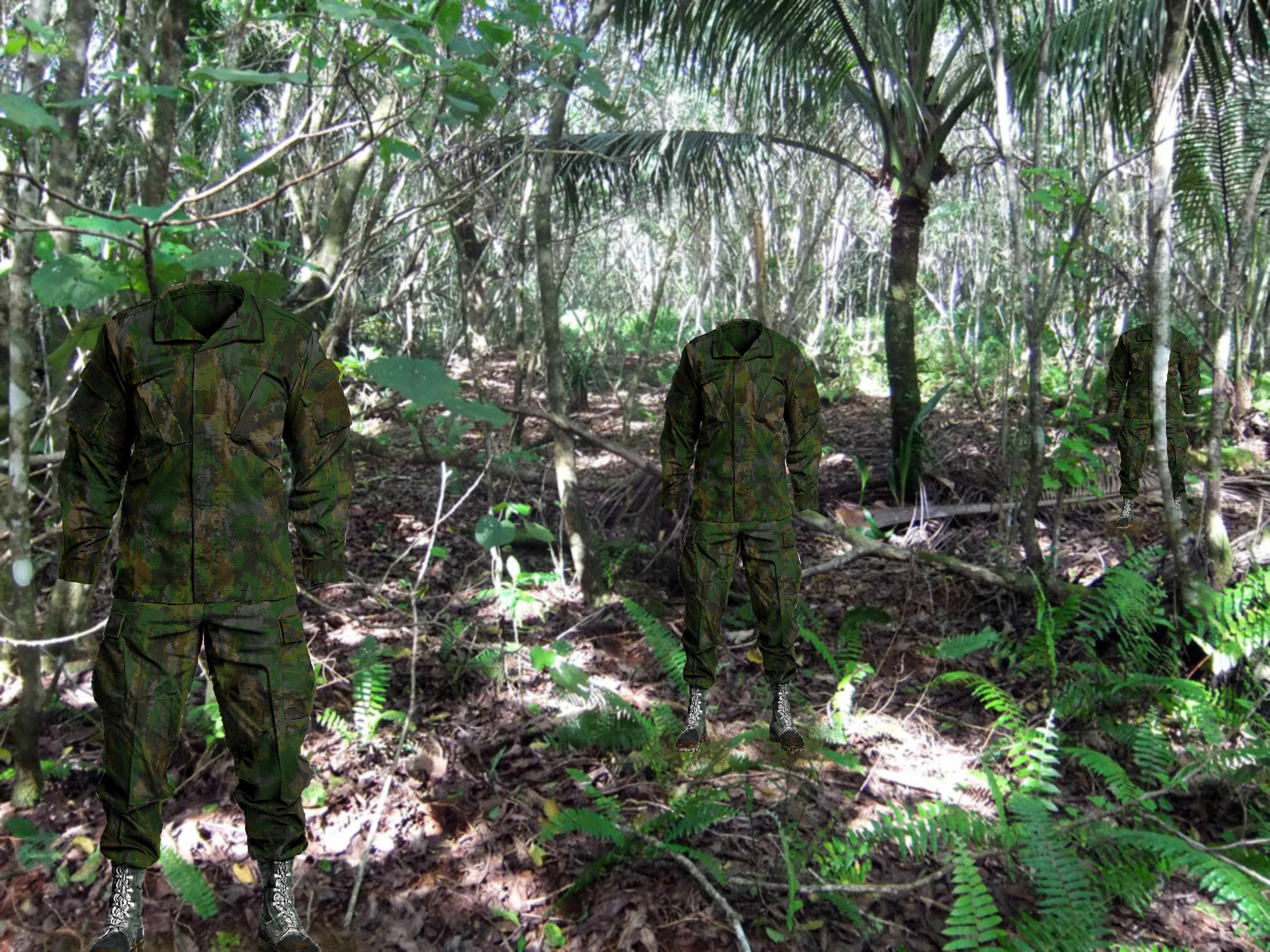 ... Jungle Floor       Jungle Survivor By Camorus