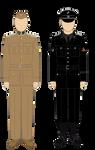 Schalburg Korpset Overvagtmester and  Dutch SS -Mi