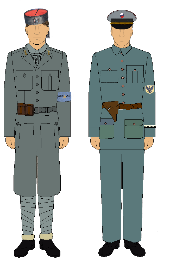 M.V.A.C. 1942-43 and Slovenian Police 1944 by camorus----234