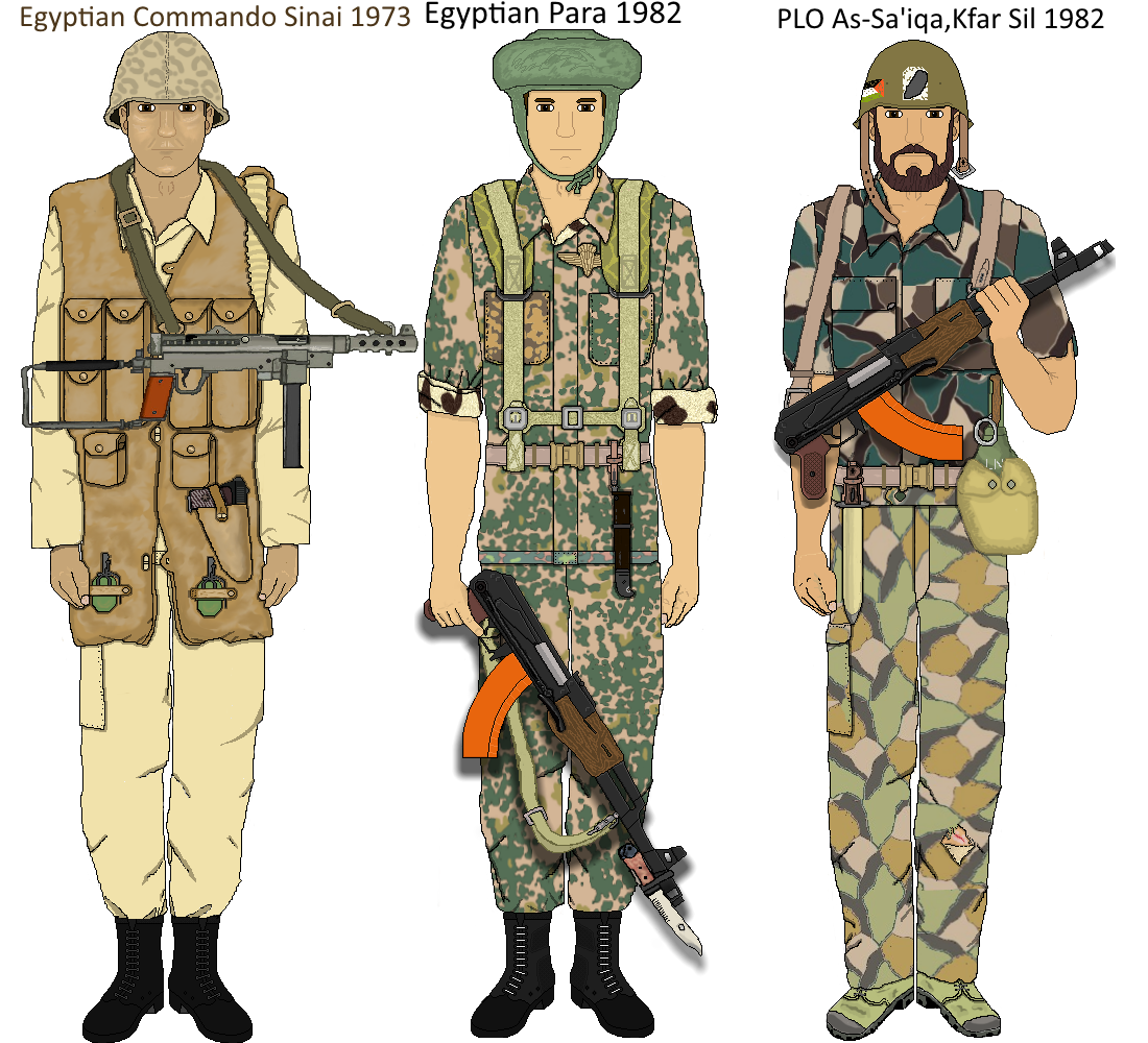 Arab Armies Egypt And Palestine By Camorus 234 On