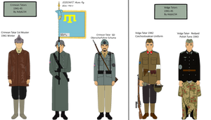 Tatars in German Armed Forces WW2