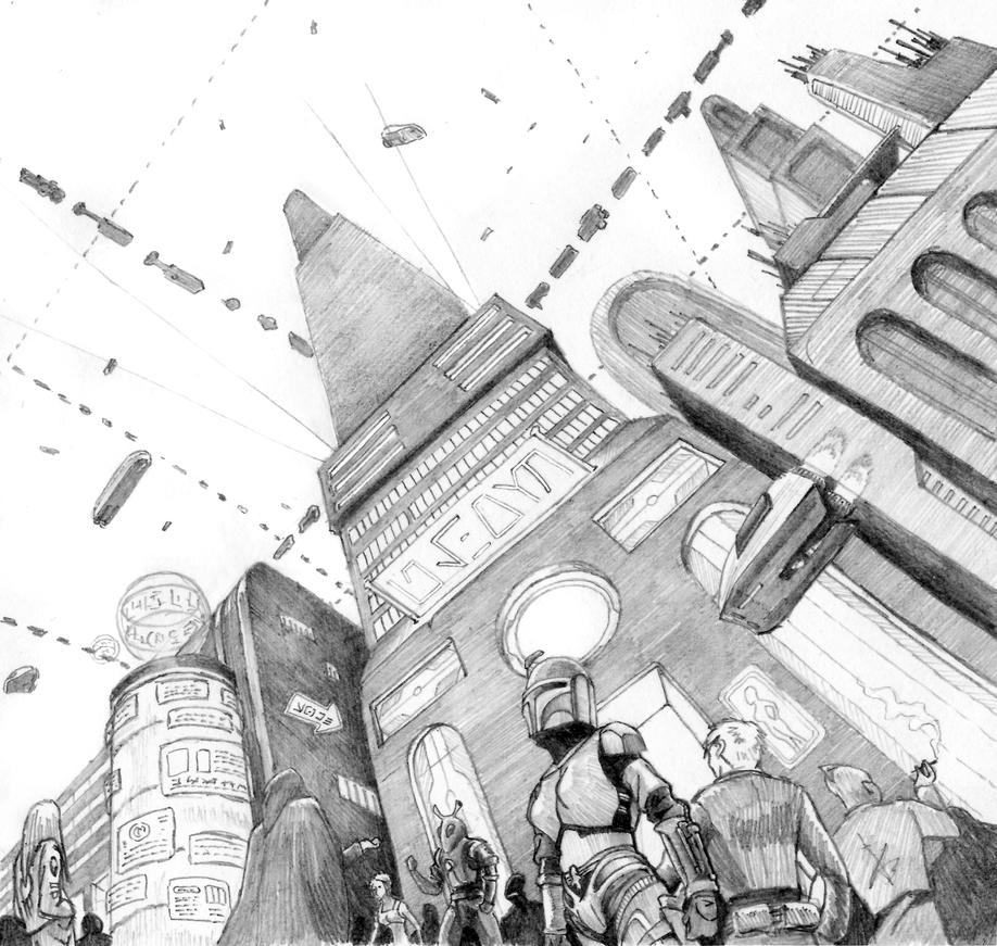 Lower city II by akimych07