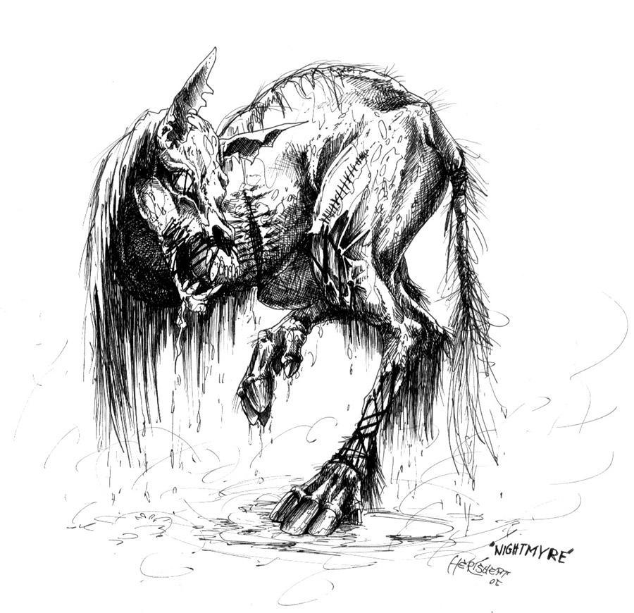Nightmyre-by herisheft by GoreGalore