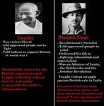 Bhagat Singh vs Gandhi