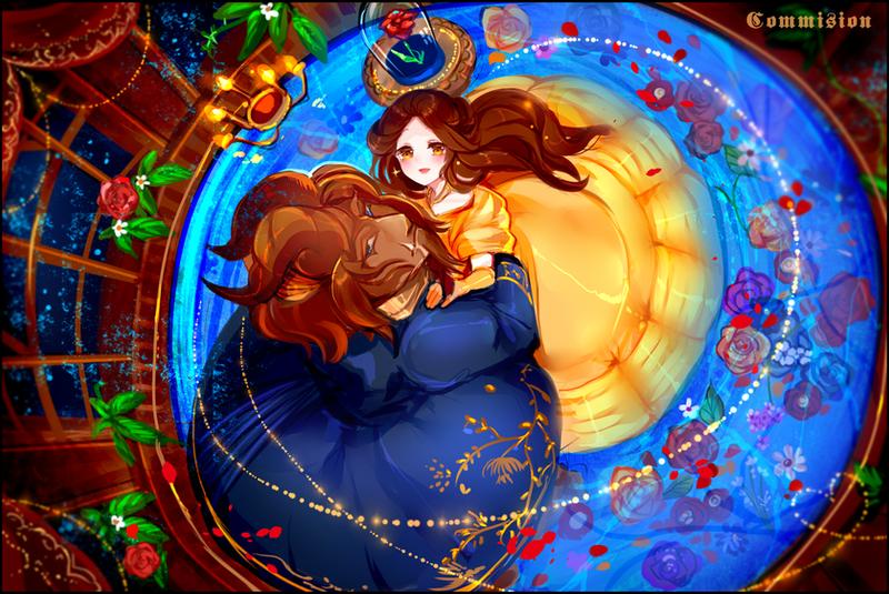 Beauty And The Beast Fan Art Anime