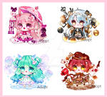 [Close][ Raffle ]Adopts set 1