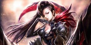 Blade and Soul Fan Art - Yu Lan (original size) by cmwdexint