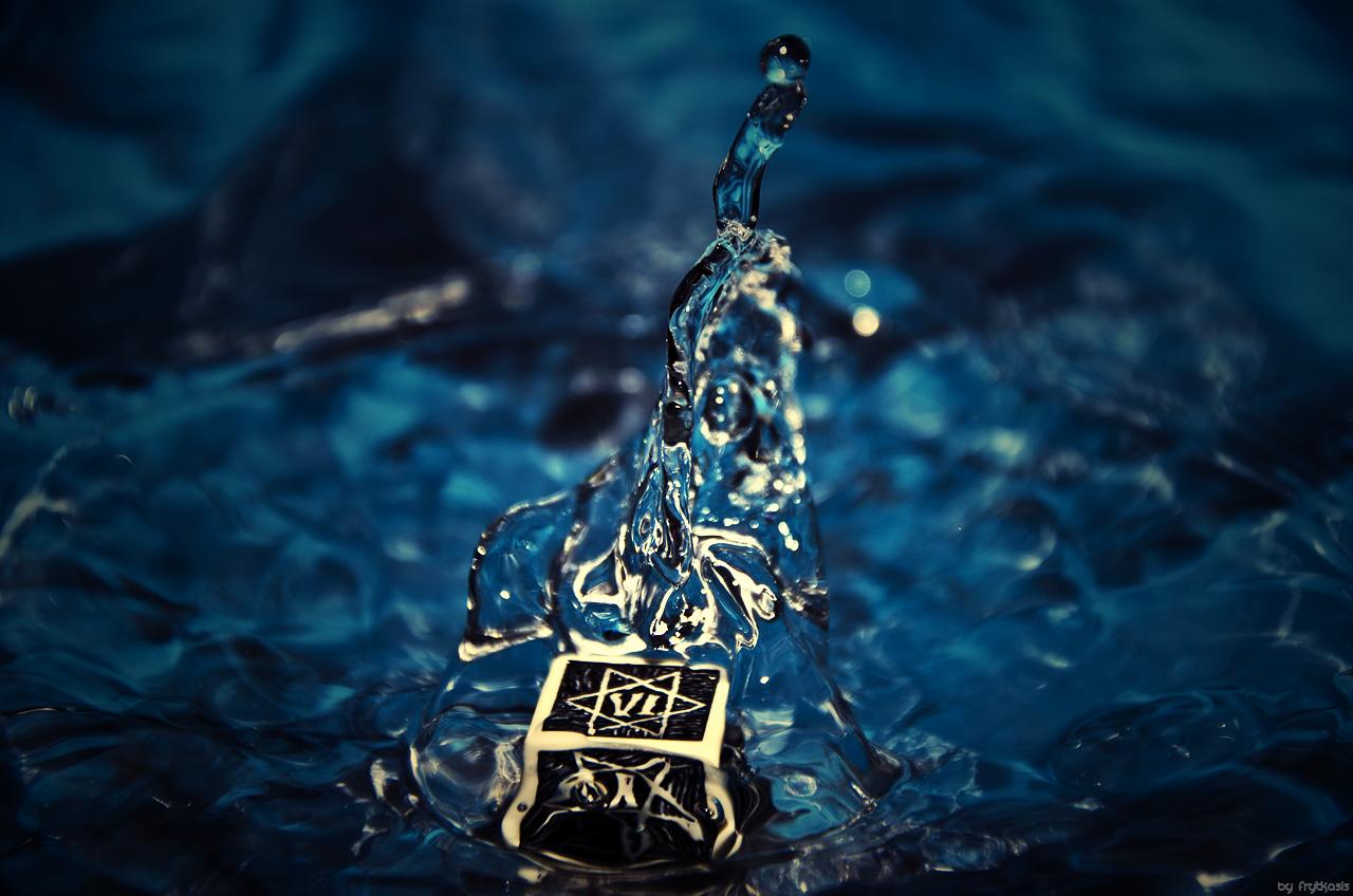 Magic water dice.