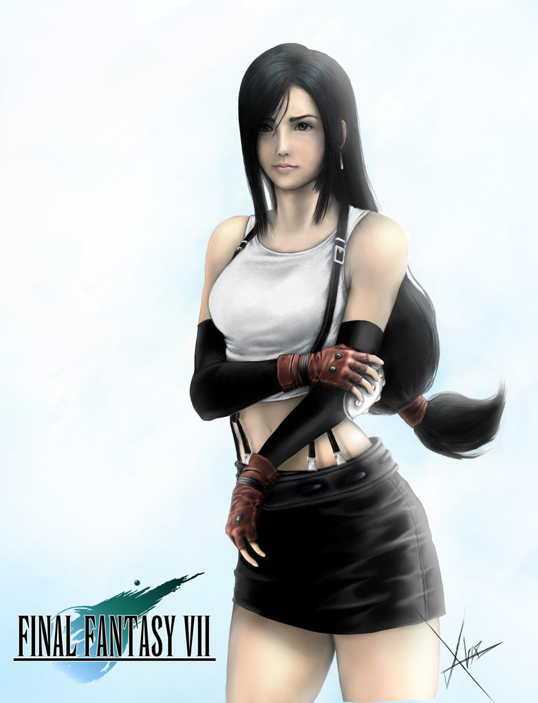 Was specially Final fantasy tifa lockhart possible speak