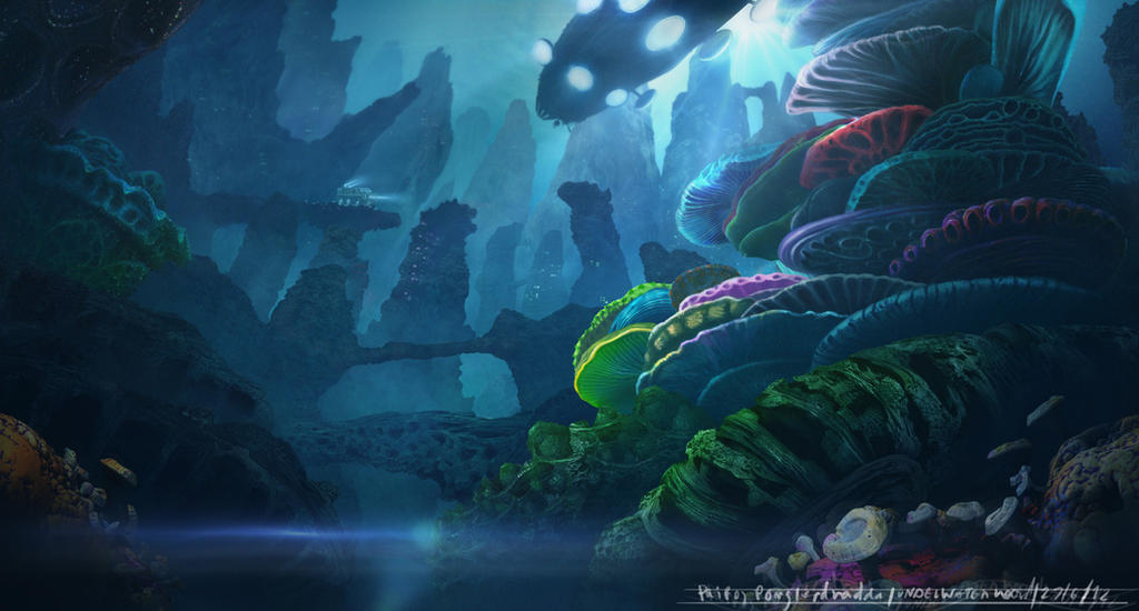 Underwater survey by teety