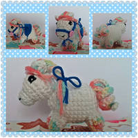 Rainbow Horse by mrtweely